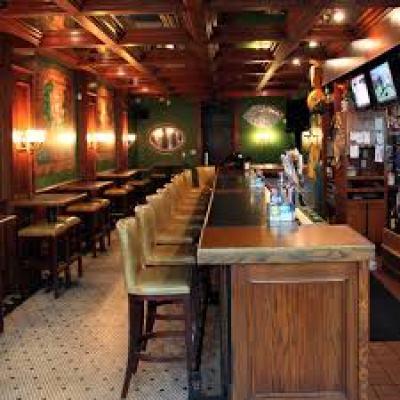 dining hall of Marlins bar & grill