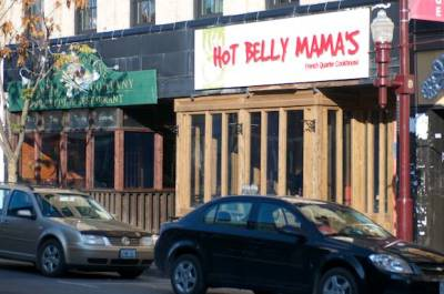 entrance of hot belly mama's