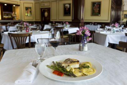 The interior of Chefs Restaurant Mediterranean Grill