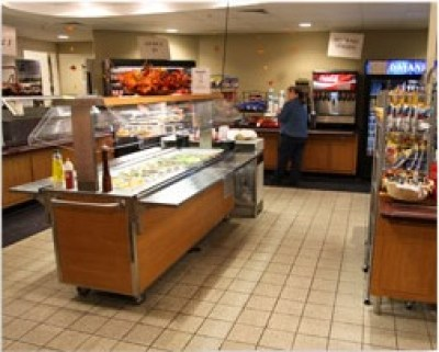 Inside the Commons Food Court