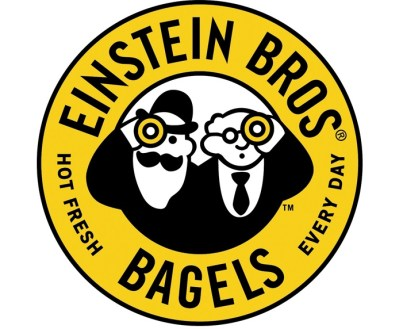 The official logo of the Einstein Bros. Bagels
