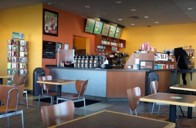 photo inside the Biggby Coffee