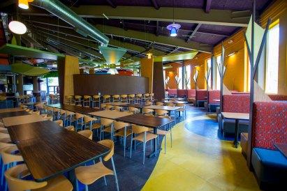 The interior of The Campus Center Cafeteria