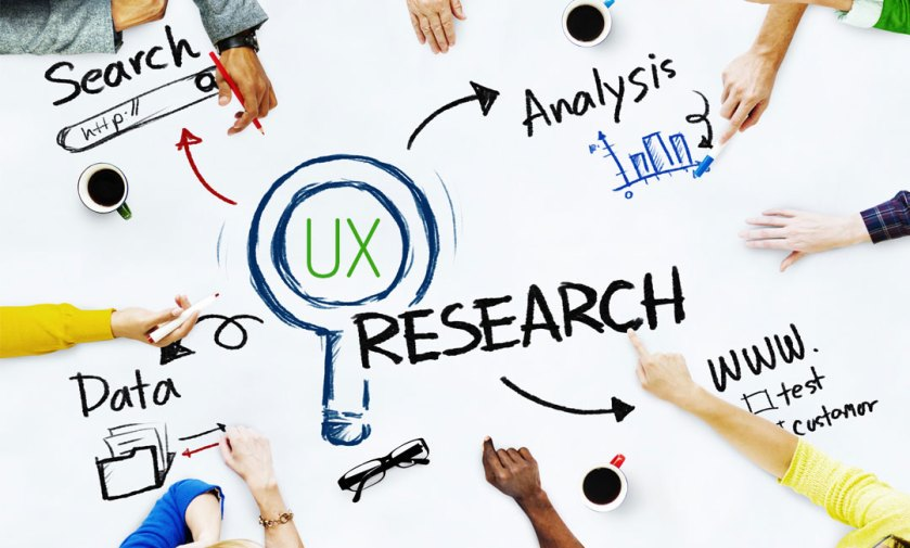 an analysis of different research such as data and search