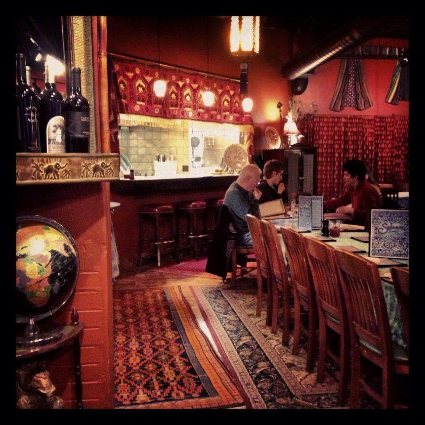 Salaam restaurant interior