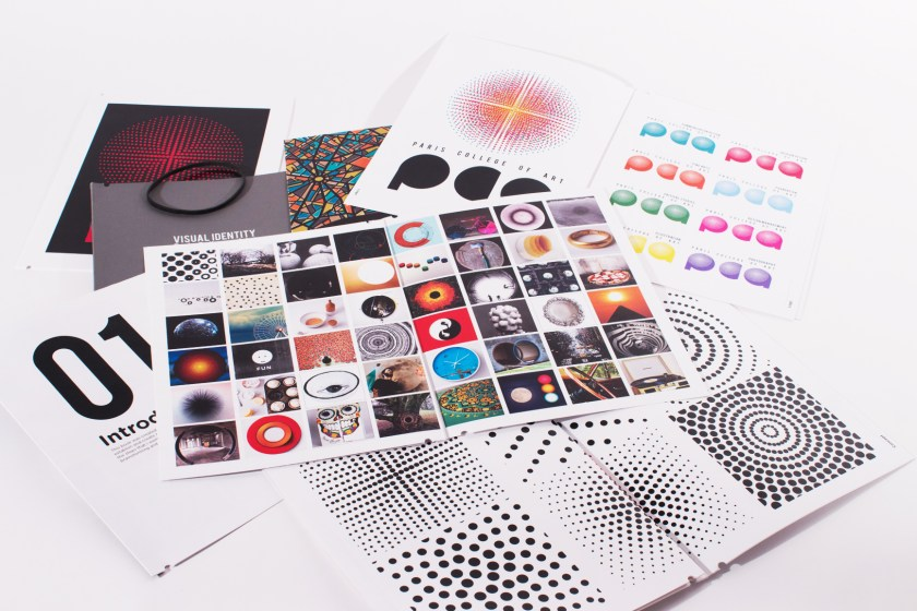 books of pictures used for communication design