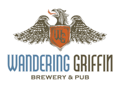 the logo for wandering griffin