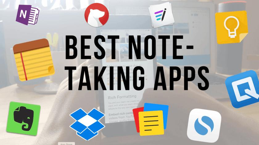 Online note taking apps