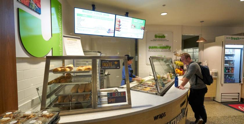 Food stand at SubConnection