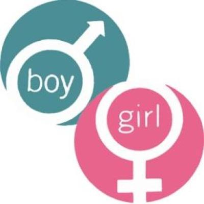 biological symbols for male and female gender