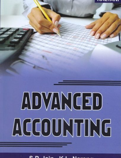 Advanced Accounting Textbook Cover Page