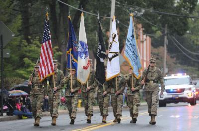 Millersville cadet parade.