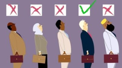 picture showing workplace discrimination