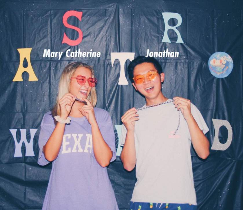 Mary Catherine Arnott & Jonathan Wong, UT startup founders of swipemein