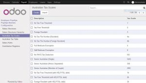 Australian Payroll module for Odoo updated for Odoo 10