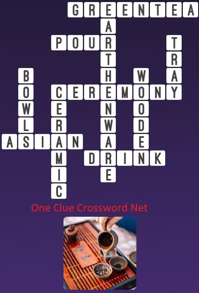 Ceramic - One Clue Crossword