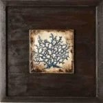 Indigo Coral Shadowbox No. 2
