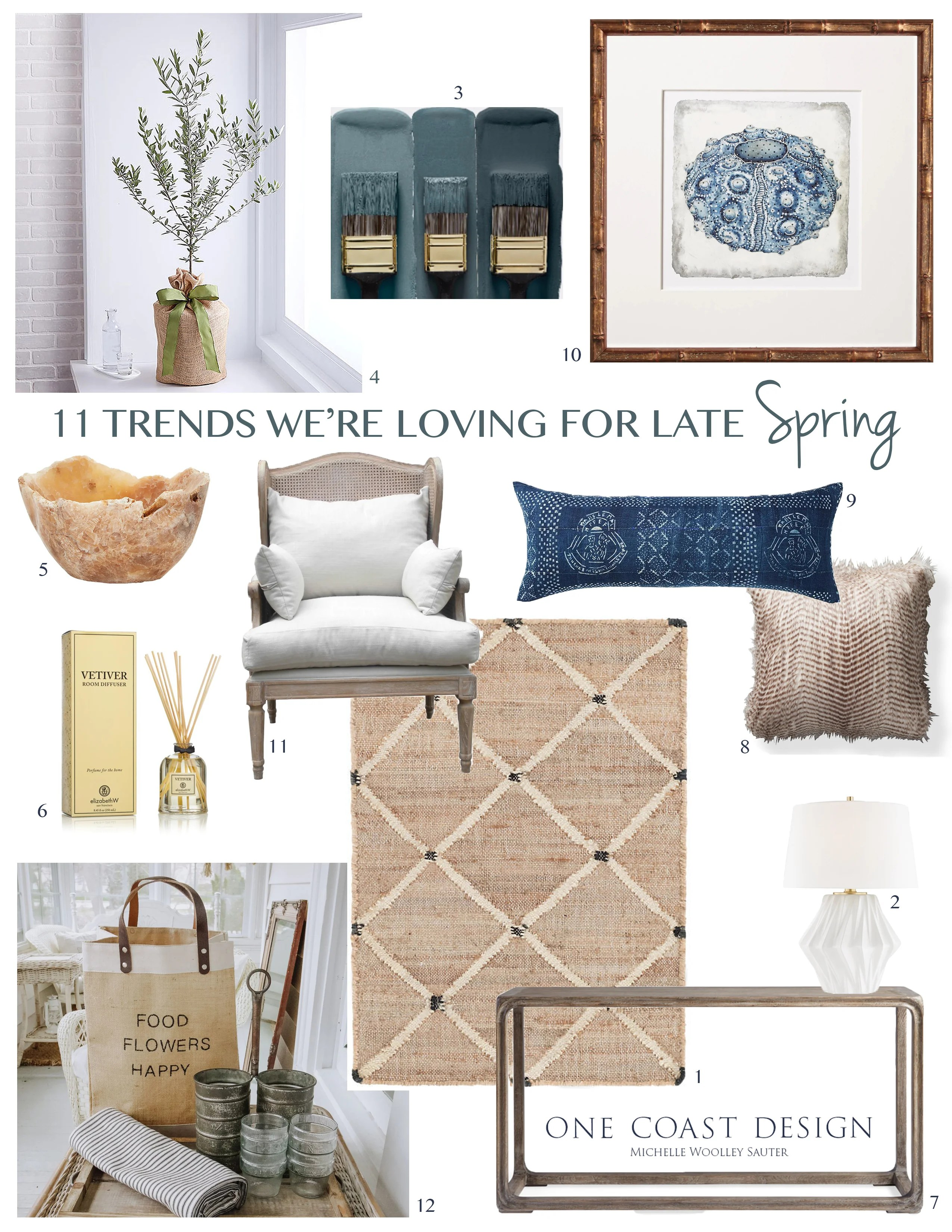 11 Trends Were Loving For Late Spring, One Coast Design