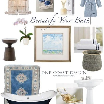 13 Ways to Beautify Your Bath Right Now