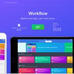 iOSのworkflowがかなり便利