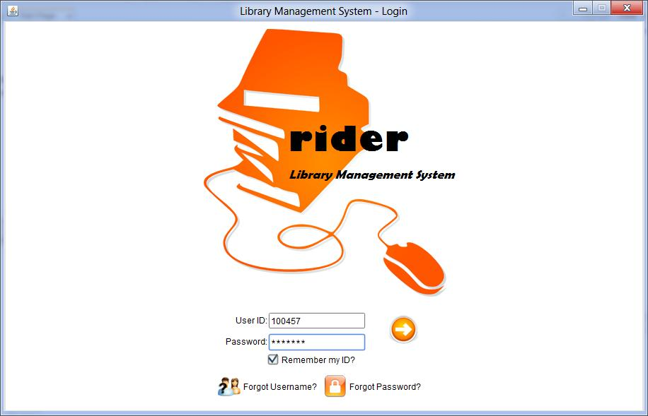 Library Management System  Login test cases