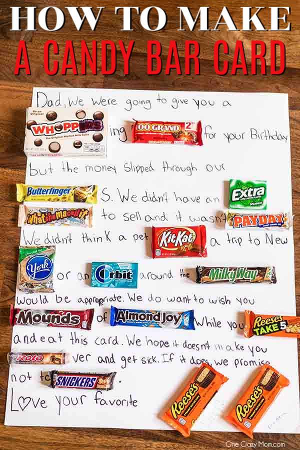 Candy Birthday Card : candy, birthday, Candy, Learn, Birthday