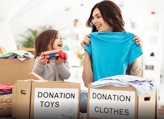 Donate clothes to Goodwill