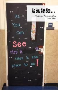 Mommy Blessings Teacher Appreciation Door Decorations ...