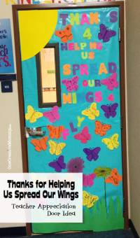 25 Teacher Appreciation Door Ideas - onecreativemommy.com