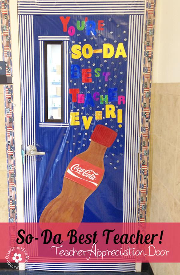 Teacher Appreciation Ideas for Door Decorating