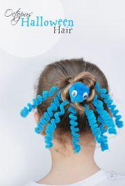 crazy hair day octopus idea