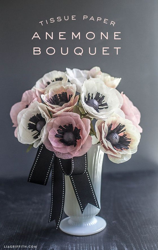 Best Paper Flowers Tutorials for Mothers Day  onecreativemommycom