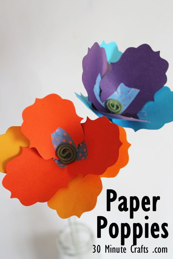 Best Paper Flowers Tutorials for Mothers Day