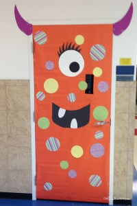 Cool Classroom Door Decorations for Halloween