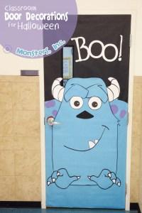 Cool Classroom Door Decorations for Halloween ...