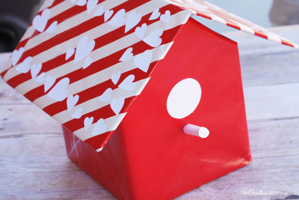 Valentine Box Ideas Birdhouse