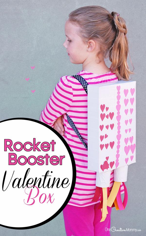 Valentine Box Ideas Rocket Booster