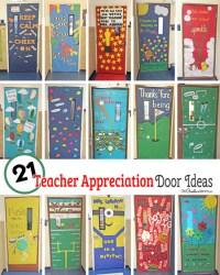 21 Awesome Teacher Appreciation Door Ideas ...