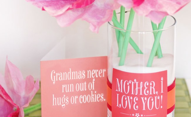 Cute Mother S Day Gift Idea And Printables Onecreativemommy