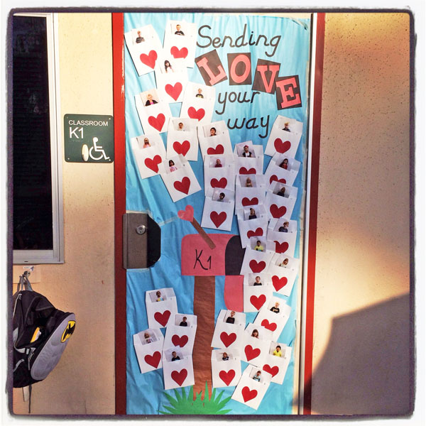 27 Creative Classroom Door Decorations for Valentine's Day