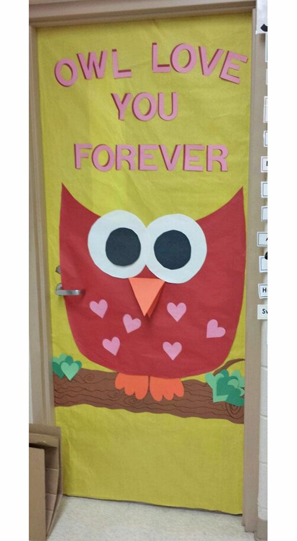 Owl Classroom Decor Ideas ~ Owl themed door decorations billingsblessingbags