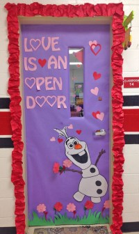 valentines day door decorations