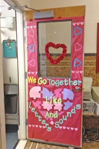 Valentine Door Decorations & Valentine Door Decorations