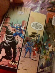 Phantom Ranger, Blue Senturian, and Ninjor!