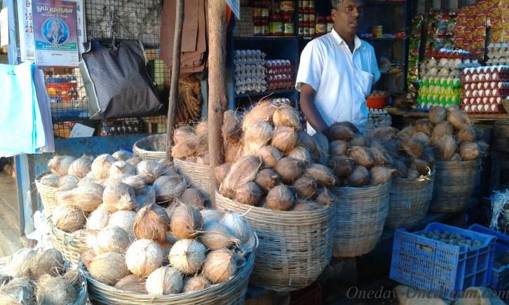 vendeur noix de coco