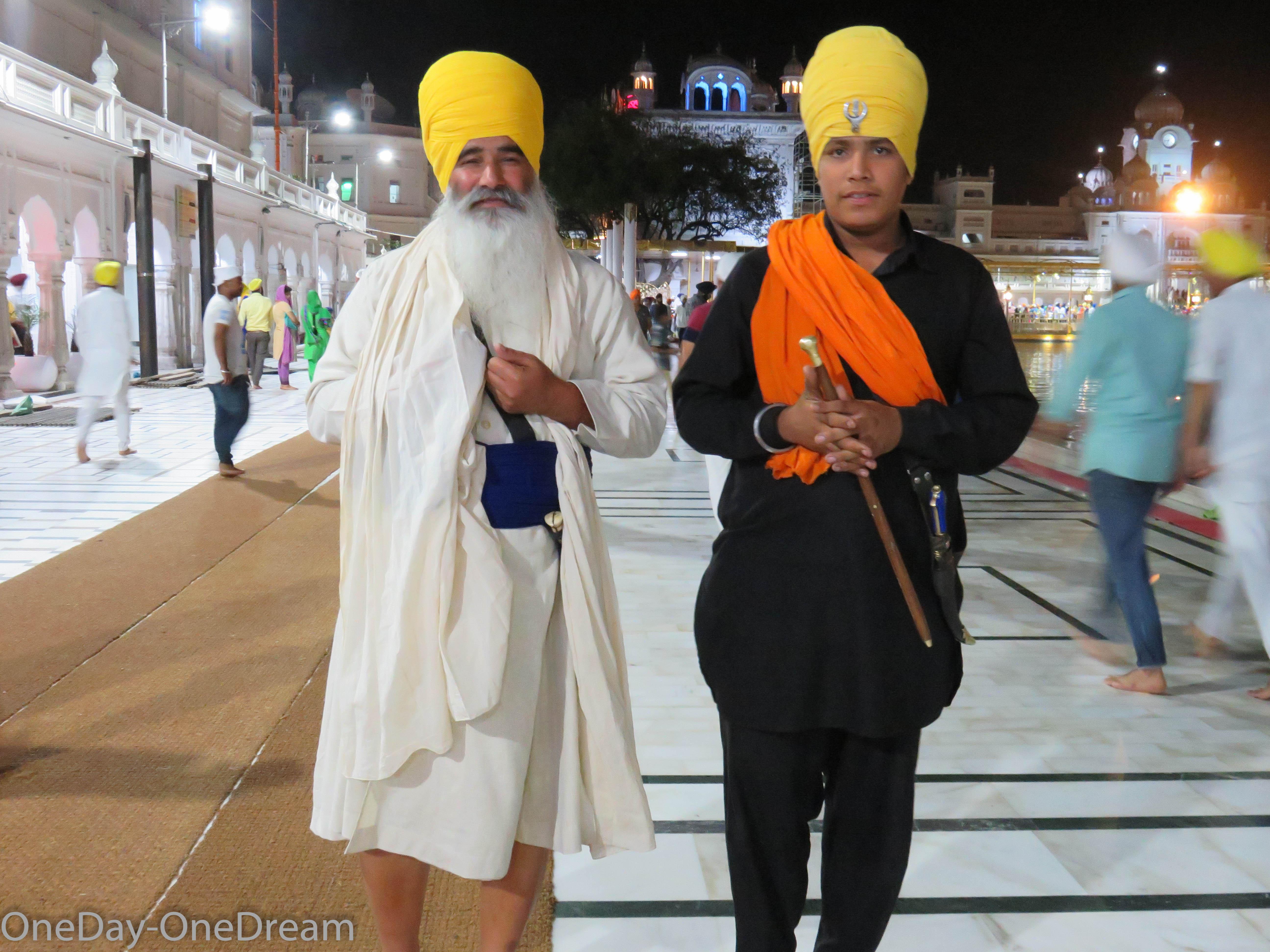 Le Pendjab, lieu saint des Sikhs au nord de l'Inde