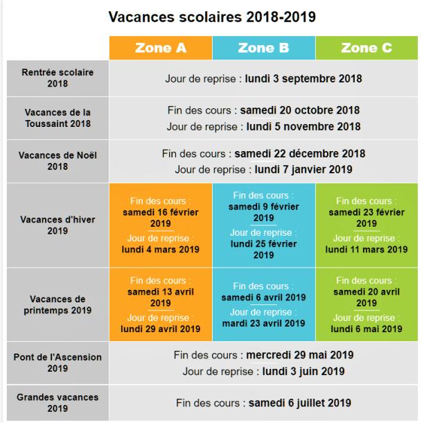 vacances-2018-19