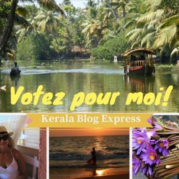 Kerala Blog Express – Votez pour moi!
