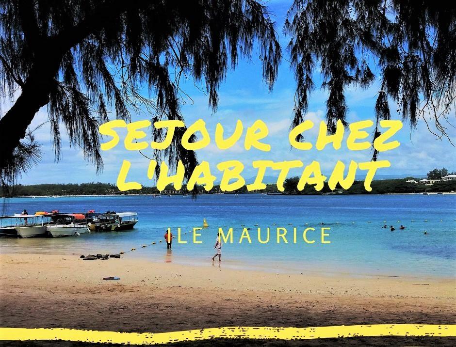 Séjour chez l'habitant à l'île Maurice pour un voyage authentique