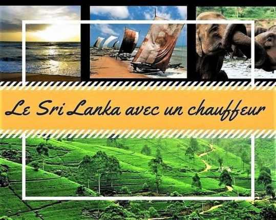 Le Sri Lanka avec un chauffeur
